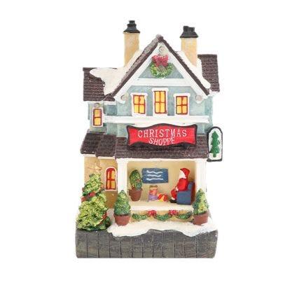 Villa navideña animada Bliss