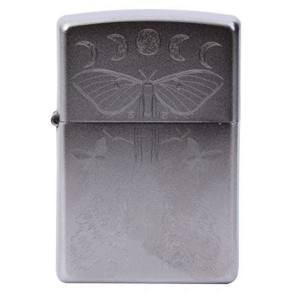Zippo Encendedor Butterfly  Wolf  Design