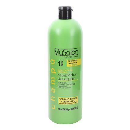 Shampoo reparador de argán MySalon