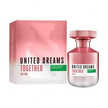 United Dreams Together for Her Benetton 80 ml