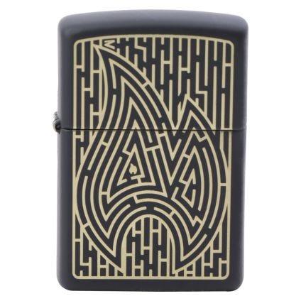 Zippo Encendedor Maze Design