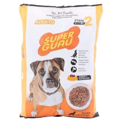 Alimento para perro adulto Super Guau