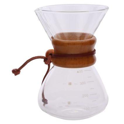Cafetera de vidrio Adagio