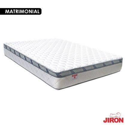 Colchón Basic Matrimonial Jirón