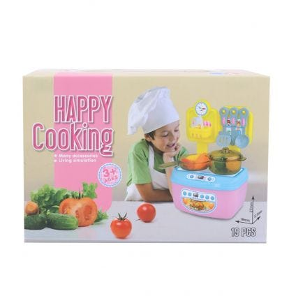 Set de utensilios Happy Cooking