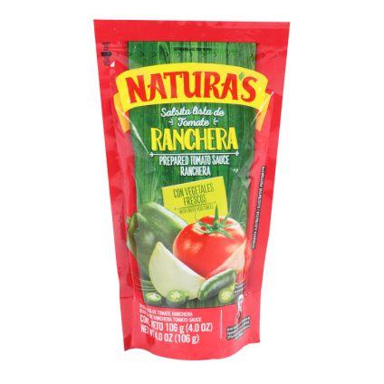 Salsa de tomate ranchera Naturas
