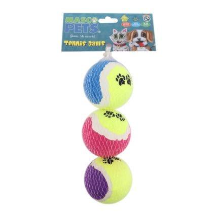 Set de pelotas para mascotas Masco Pets