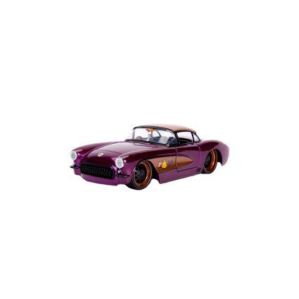 Chevy Corvette 1957 Batgirl Esc. 1:24