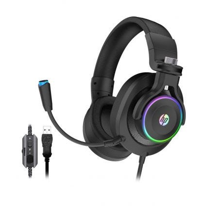 HP Audífonos Gaming H500GS BK
