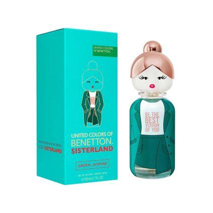 Sisterland Green Jasmine Benetton 80 ml