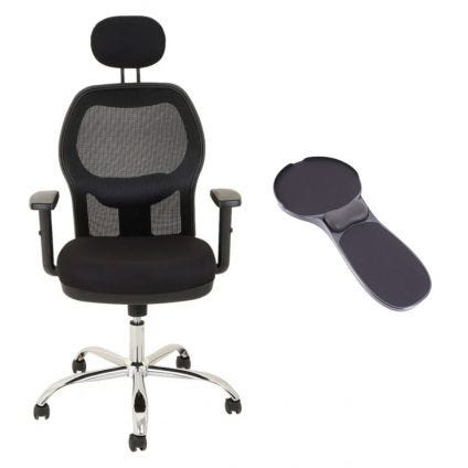 Basic Seats Silla Ergonómica y Descansabrazos