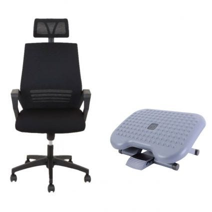 Basic Seats Silla Operativa y Descansapies
