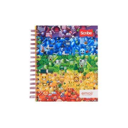 Cuaderno resortes 100 hojas Scribe