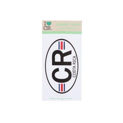 Sticker CR Costa Rica