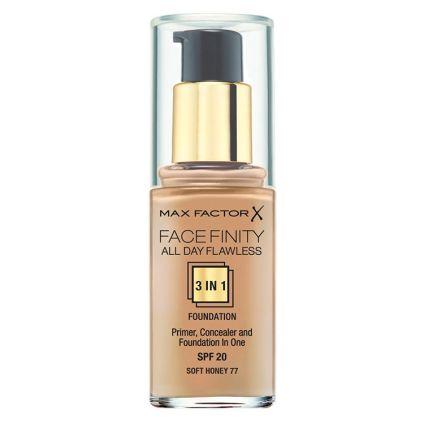 Base líquida 3 en 1 Soft Honey MAX FACTOR