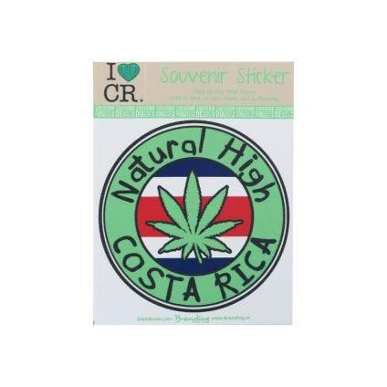 Sticker Natural High Costa Rica