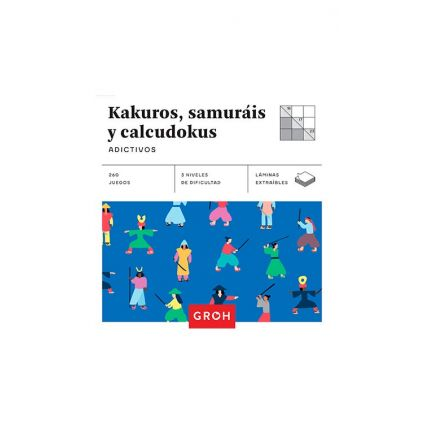 Kakuros, Samuráis y Calcudokus