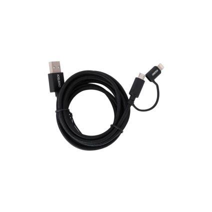 Cable 2 en 1 Lightning + MicroUSB CHOETECH