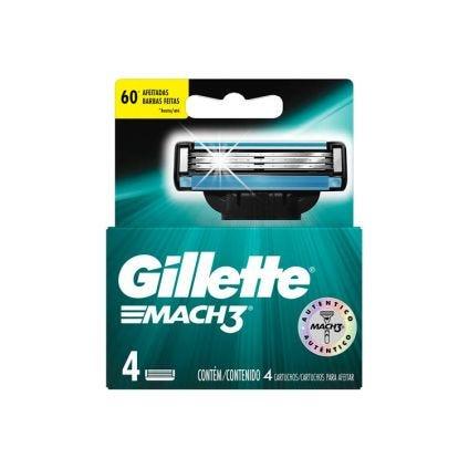 Set de repuesto Mach 3 Gillette