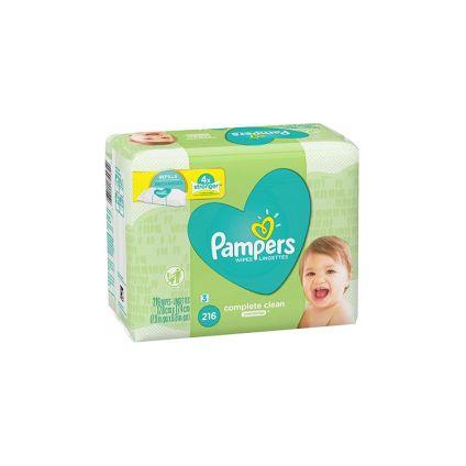 Toallitas húmedas sin aroma Pampers
