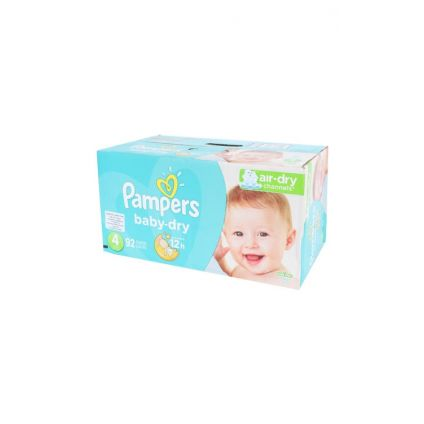 Pañales Baby Dry Talla 4 Pampers
