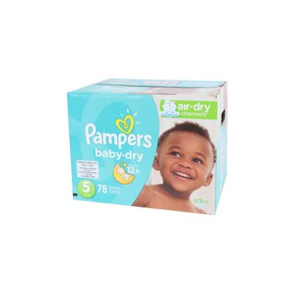 Pañales Baby Dry Talla 5 Pampers