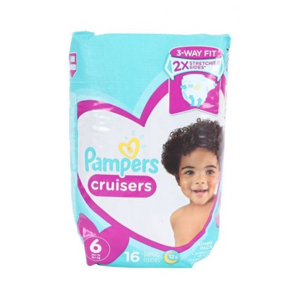 Pañales Cruisers Talla 6 Pampers