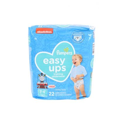 Easy Ups Talla 3-4  Pampers