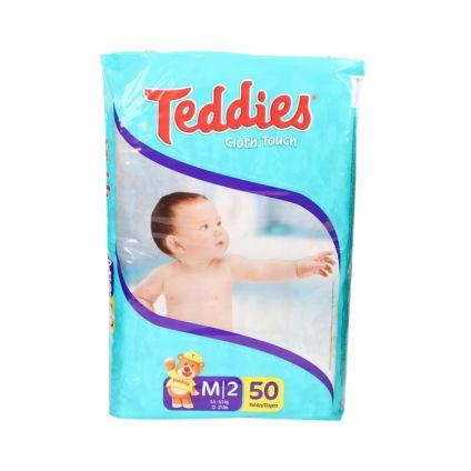 Pañales M/2 Teddies
