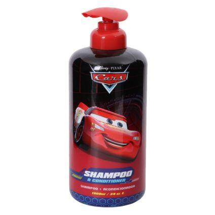Shampoo y Acondicionador Cars Disney 1000 ml
