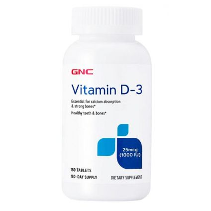 Vitamina D3 1000 UI GNC