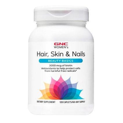 Suplemento Hair Skin Nails GNC