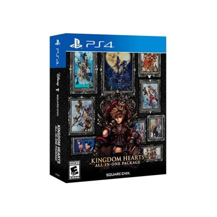 Kingdom Hearts All In One Package PS4