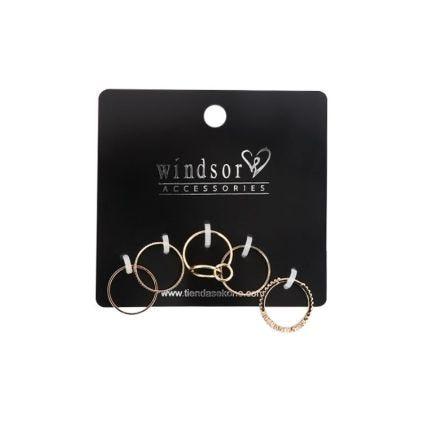 Set De Anillos Windsor Accessories