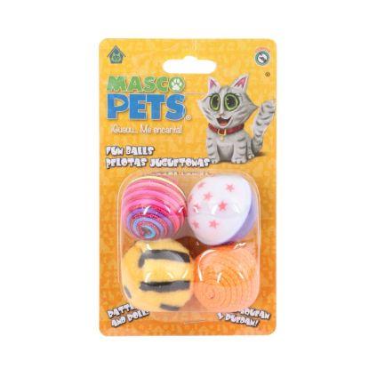 Set de pelotas chirriantes Masco Pets