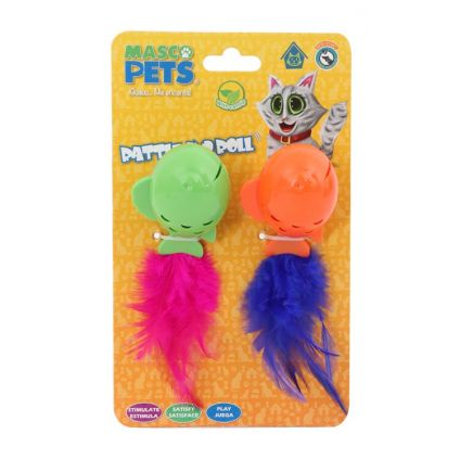 Juguete sonajero para gato Masco Pets