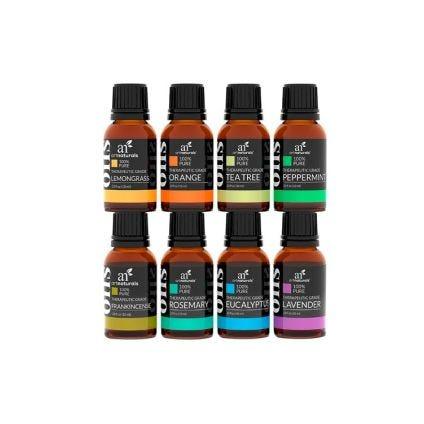 Kit de 8 aceites esenciales Art Naturals