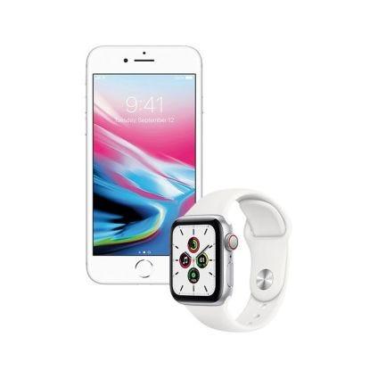 iPhone 8 de 64GB + Apple Watch SE 40mm