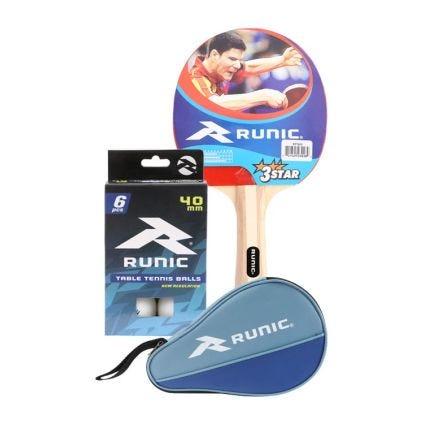Paquete Tenis de Mesa Runic