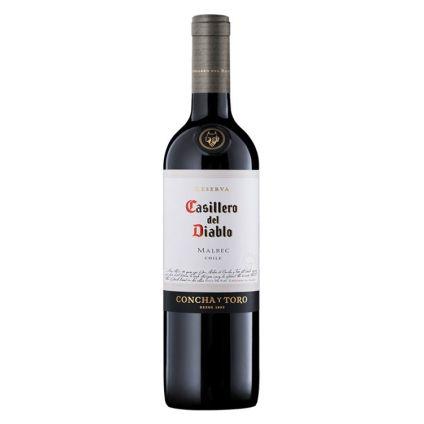 Vino Casillero del diablo Malbec 750 ml